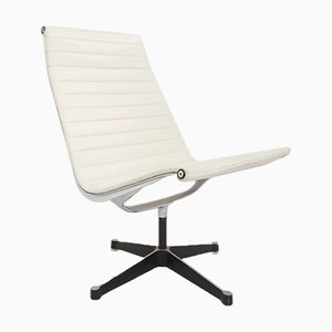 Vinyl Model EA 116 Swivel Lounge Chair by Charles & Ray Eames for Herman Miller, 1960s