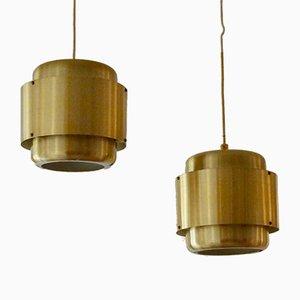 Schwedische Mid-Century Deckenlampe, 1960er, 2er-Set