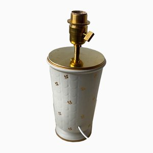 Carrara Ceramic Table Lamp by Wilhelm Kåge for Gustavsberg, 1940s