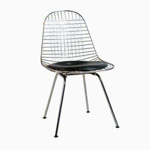 Sedie DKR in cavo metallico di Charles Eames per Herman Miller, set di 2