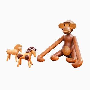 Großer Affe von Kay Bojesen, 1950er