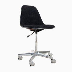 Verstellbarer Fiberglas Schreibtischstuhl von Ray und Charles Eames für Herman Miller