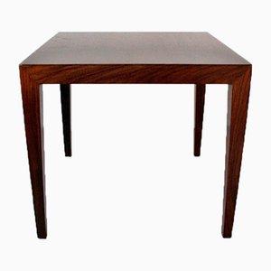Rosewood Side Table by Severin Hansen for Haslev Mobelsnedkeri