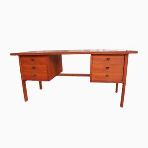 Teak Schreibtisch von Svend & Madsen