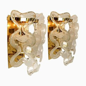 Austrian Catena Sconces by J.T. Kalmar, 1960s, Set of 2