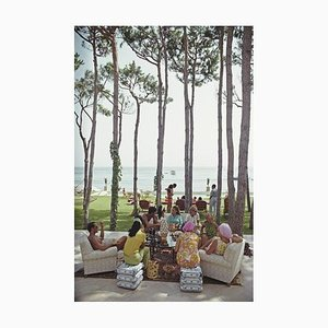 Marbella House Party Print by Slim Aarons