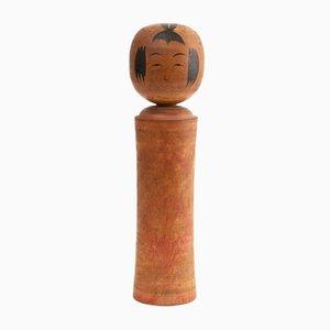 Antike japanische handbemalte Kokeshi Puppe