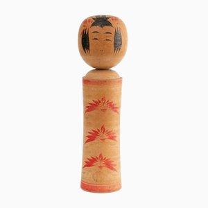 Poupée Kokeshi Antique Peinte à la Main, Japon