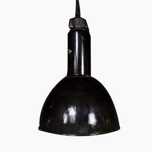 Bauhaus German Factory Lamp, 1940s