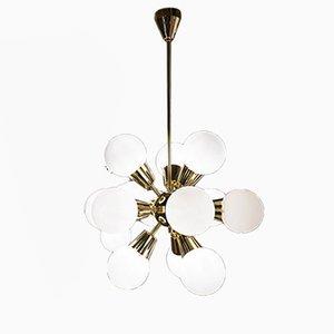 Sputnik Ceiling Lamp by Coen de Vries, 1970s