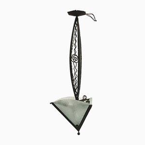 Französische Art Deco Deckenlampe