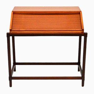 Teak and Rosewood Secretaire from Fratelli Proserpio, 1960s