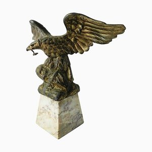 French Eagle Pocket Watch Stand Holder, 1920s