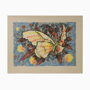 Butterfly Lithograph by Jean Lurcat, 1930s
