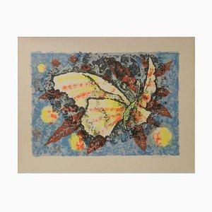 Butterfly Lithographie von Jean Lurcat, 1930er