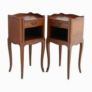 French Louis Style Nightstands, 1960s, Set of 2