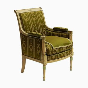 Empire Revival Bergere Armchair, 1920s