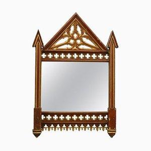 Miroir Mural Gothique avec Cadre N ° 2, Cadre 19ème Siècle