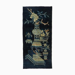 Vintage Art Deco Chinoiserie Teppich, 1920er