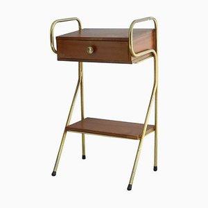 Table de Chevet dans le Style de Jacques Hitier, 1950s