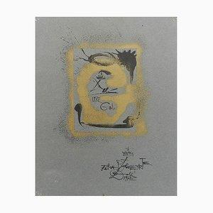 Lithograph Surreal G von Salvador Dali für Bolaffiarte, 1970er