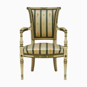 French Empire Revival Style Directoire Open Armchair, 1960s