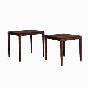 Vintage Rosewood Nesting Tables from Rosenthal