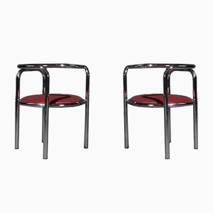 Mid-Century Locus Solus Chairs by Gae Aulenti for Zanotta, 1965, Set of 2