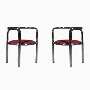 Mid-Century Locus Solus Stühle von Gae Aulenti für Zanotta, 1965, 2er Set