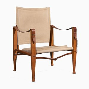 Vintage Safari Chair von Kaare Klint für Rud Rasmussen