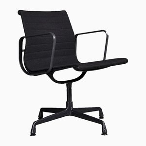 Black EA108 Dining Chairs by Charles and Ray Eames for Vitra, 1958, Set of 4