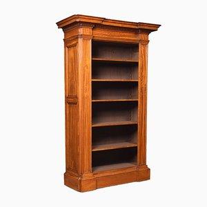 Offenes Bücherregal aus Seidenholz, 19. Jh
