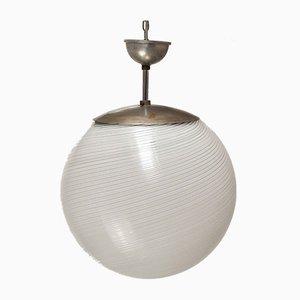 Sphere Pendant Lamp by Alessandro Diaz de Santillana, 1950s