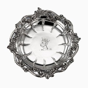 18th Century Georgian English Solid Silver Sweetmeat Dishes from William Cripps, 1750s, Set of 4