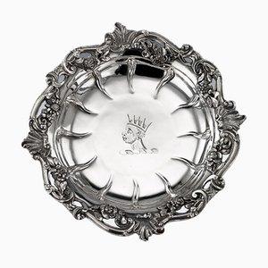 Georgianische Silbermassivtafeln aus massivem Silber von William Cripps, 1750er, 4er Set