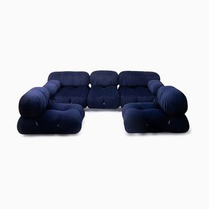 Vintage Camaleonda Sofas by Mario Bellini for B&B Italia / C&B Italia, Set of 5