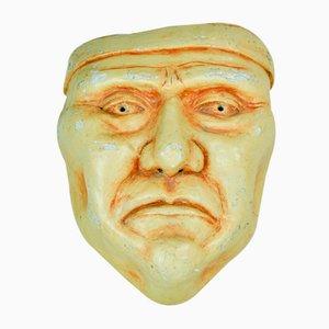 Maske aus Gips, 1970er