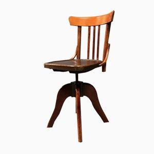 Antique Dutch Desk Chair, 1920s