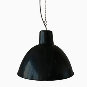 Vintage Industrial German Model EHS2/S Loft Pendant Lamp, 1950s