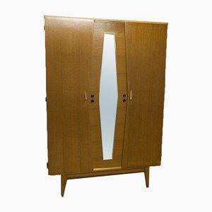 Kleiderschrank mit Spiegel von Franco, 1970er