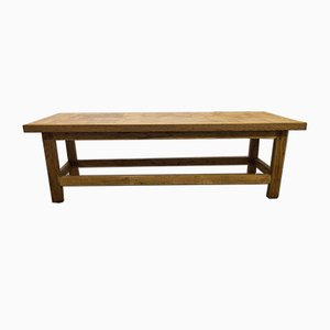 Mid-Century Handcrafted Bench, 1960s