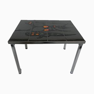 Vintage Tiled Coffee Table from Belarti, 1960s