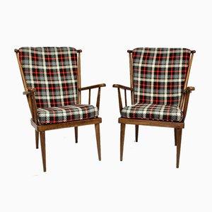 Lounge Chairs by Emile Baumann for Baumann, 1960s, Set of 2