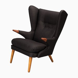 Danish Model 91 Wing Back Armchair by Svend Skipper for Skipper, 1950s