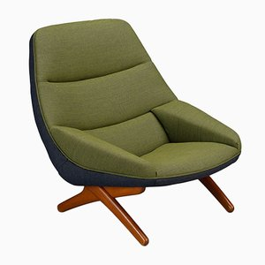 Danish Model ML-91 Lounge Chair by Illum Wikkelsø, 1960s