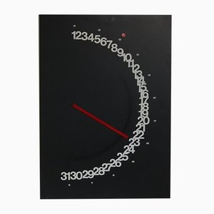Meridiana Wall Calendar by Giulio Confalonieri