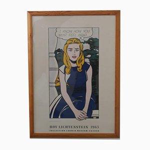 Roy Lichtenstein Museum Poster, 1980er