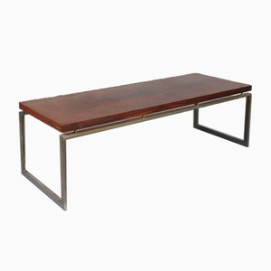 Table Basse Rectangulaire en Palissandre, 1960s