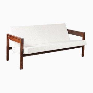 Wenge 3-Sitzer Sofa von Hein Stolle, 1960er