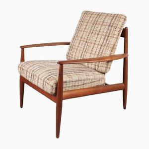 Dänischer Sessel von Grete Jalk für France & Søn & France & Daverkosen, 1950er